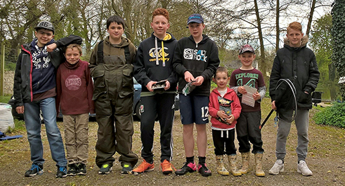 Junior and ladies Competition – Gribbles Covert Pond. 23 04 16